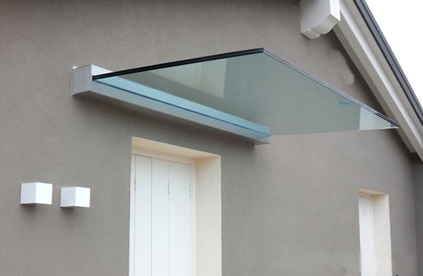 Curvotecnica tettoie d ingresso - Tettoia per porta ingresso ...